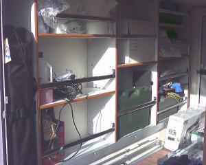 Technocaravan for Garage con negozio